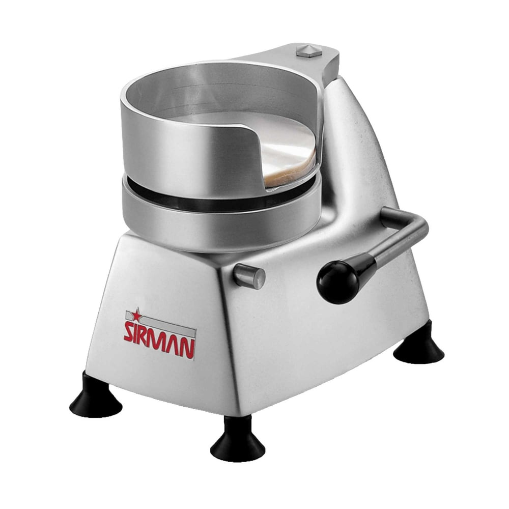 Superior food machinery sirman sa130 burger press 5 for Food bar press machine