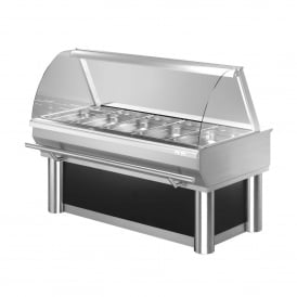 Food Display Counter - DHT71 Hot Display Counter