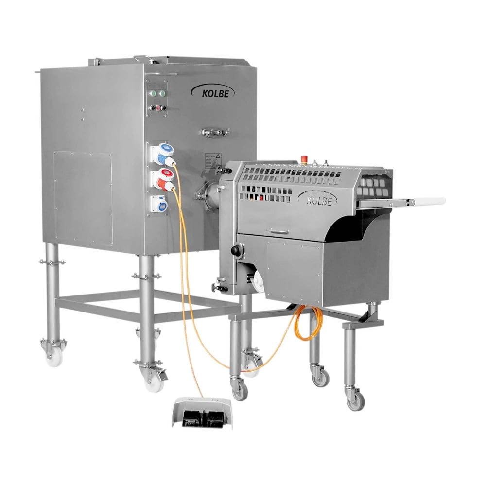 Minced Meat Portion Line - PM150 & MWK32-80 Mixer Grinder
